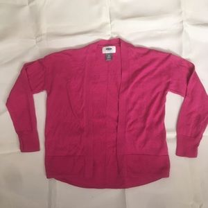 Old Navy Shirts & Tops - Old Navy girls pink cardigan.